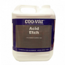 Coo-Var Acid Etch Floor Cleaning Solution
